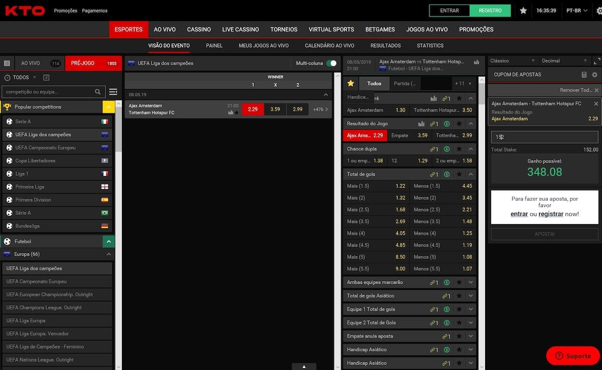 Novas casas de apostas online